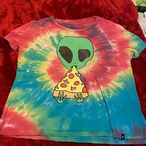 Tye-Dye alien T-shirt